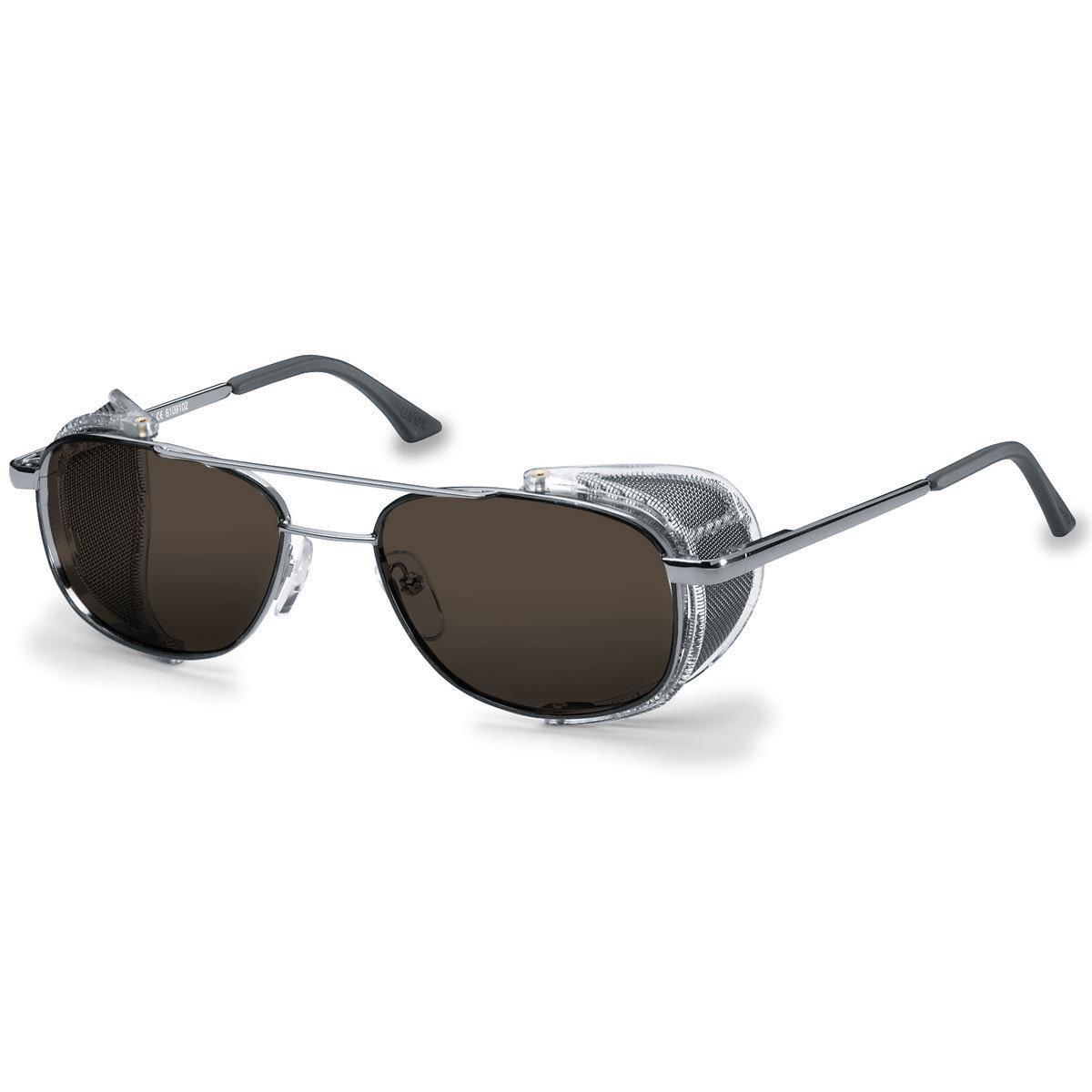 Uvex Korrektionsschutzbrille RX 5101 - braun getönt