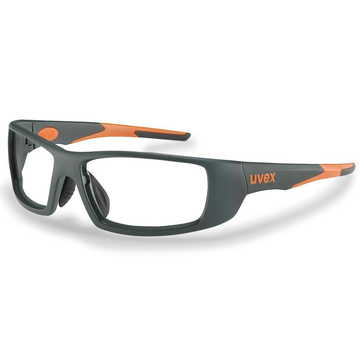 Uvex Korrektionsschutzbrille RX sp 5512 orange - Keine Entspiegelung