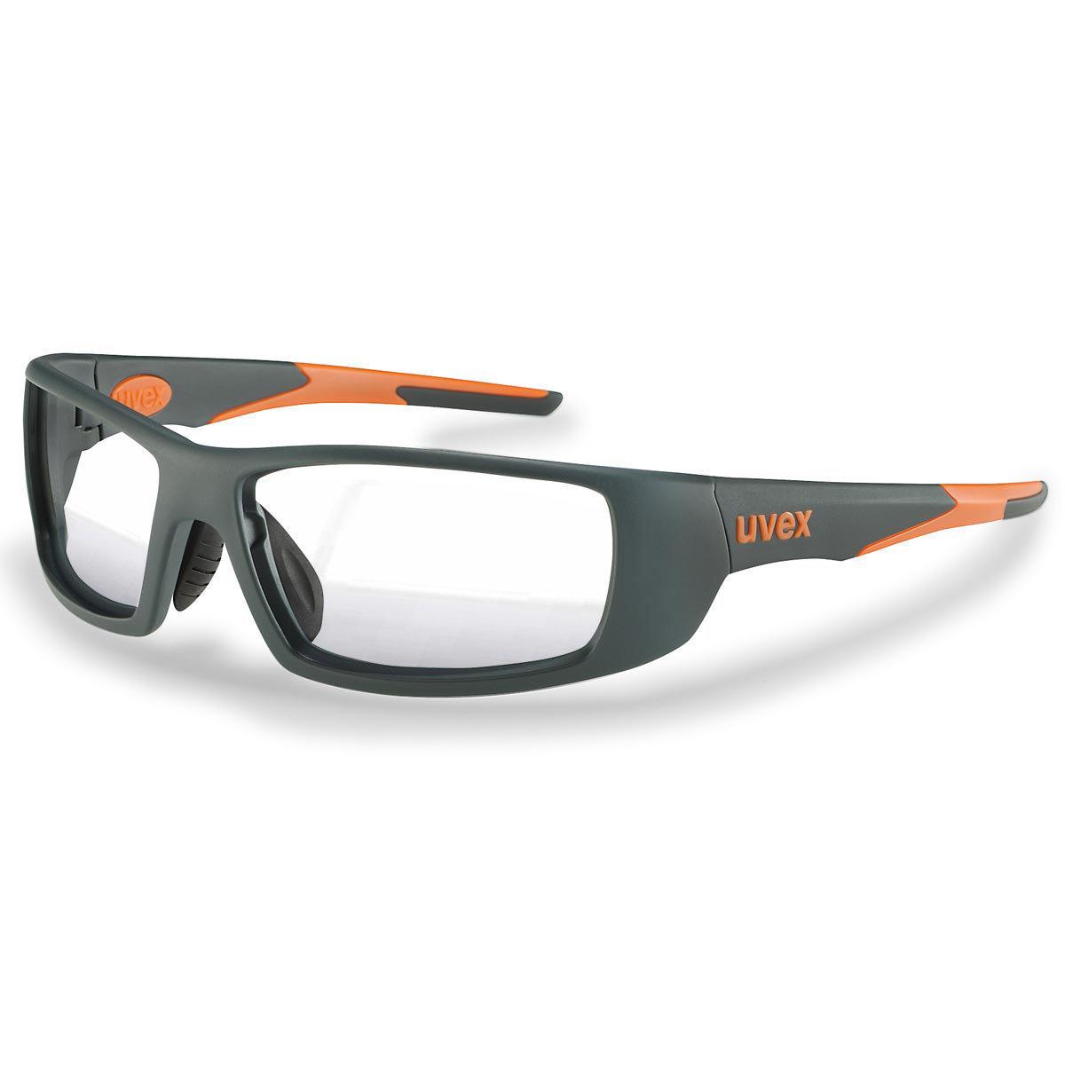 Uvex Korrektionsschutzbrille RX sp 5512 orange - Super-Entspiegelung