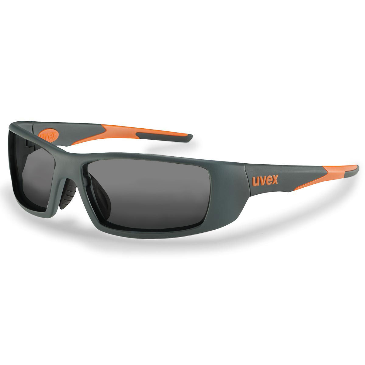 Uvex Korrektionsschutzbrille RX sp 5512 orange - grau getönt