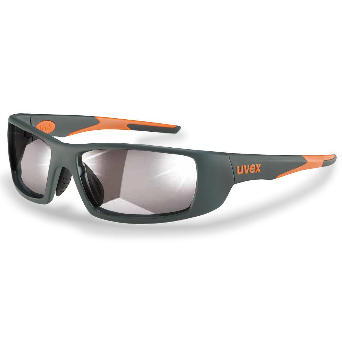 Uvex Korrektionsschutzbrille RX sp 5512 orange - Selbsttönend