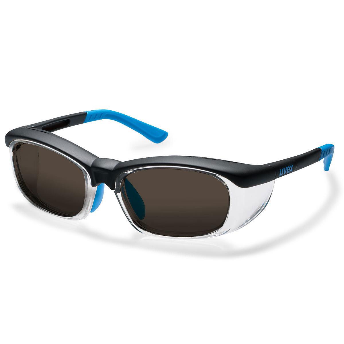 Uvex Korrektionsschutzbrille RX cd 5514 - braun getönt