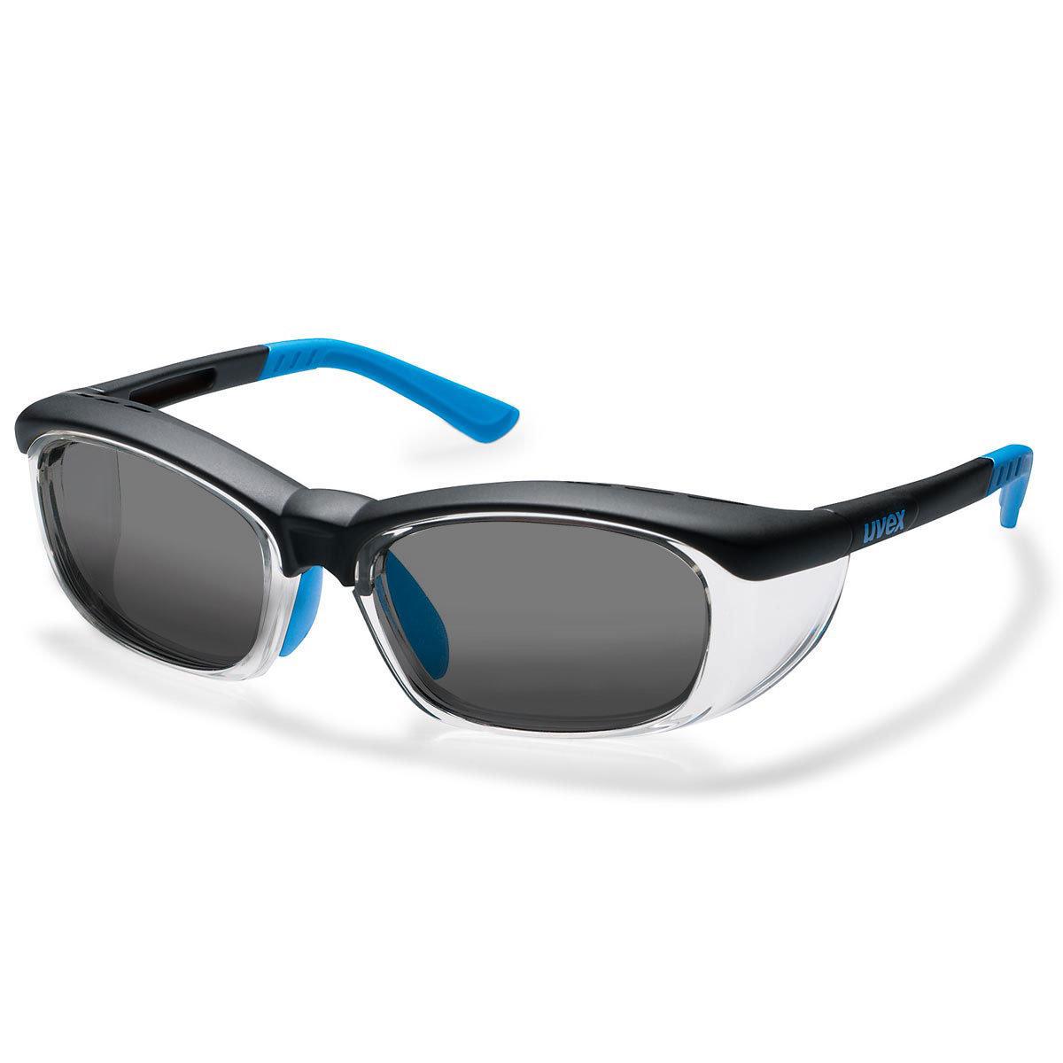 Uvex Korrektionsschutzbrille RX cd 5514 - grau getönt